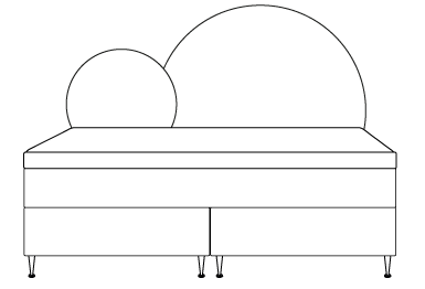 Supreme rund gavl